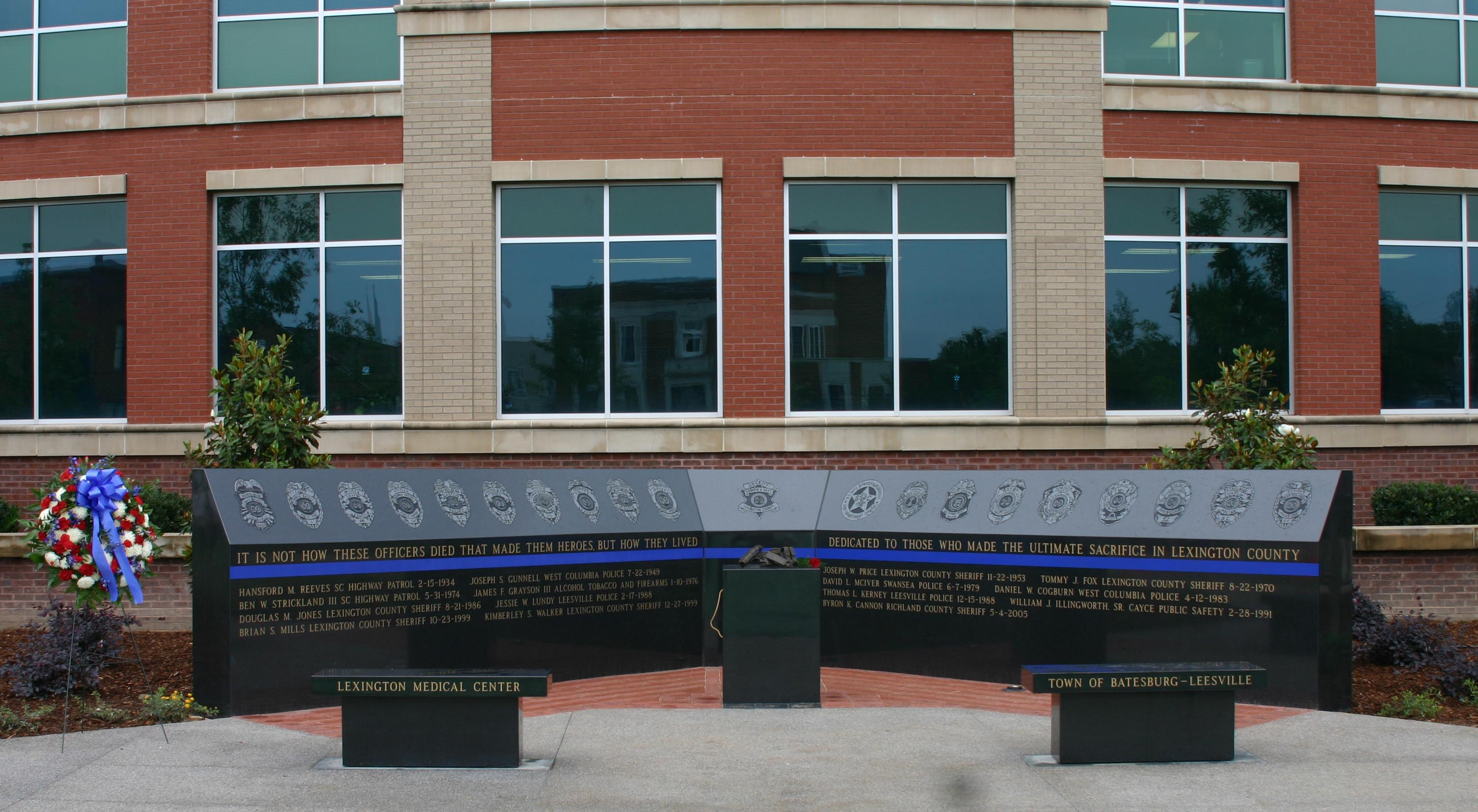 Lexington Square Officer Memorial